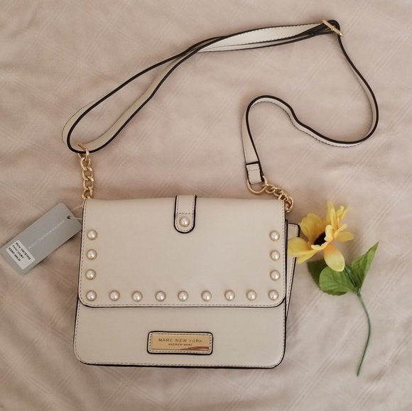 c55c50bc0329 Marc New York Purse with pearl details